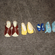 Older Assorted Doll Shoes