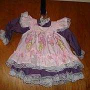 Beautiful Pink & Purple Doll Dress