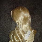 MIP Platinum Blonde Princess Style Wig