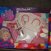Talking Jill's First Job  Cassette Tape and Outfit Set