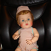 "21"" American Character Jointed Toodles from 1958"