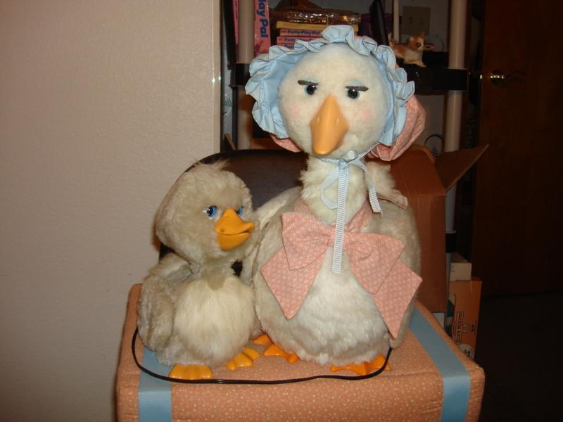 Mother Goose and Hector Electric Store Display