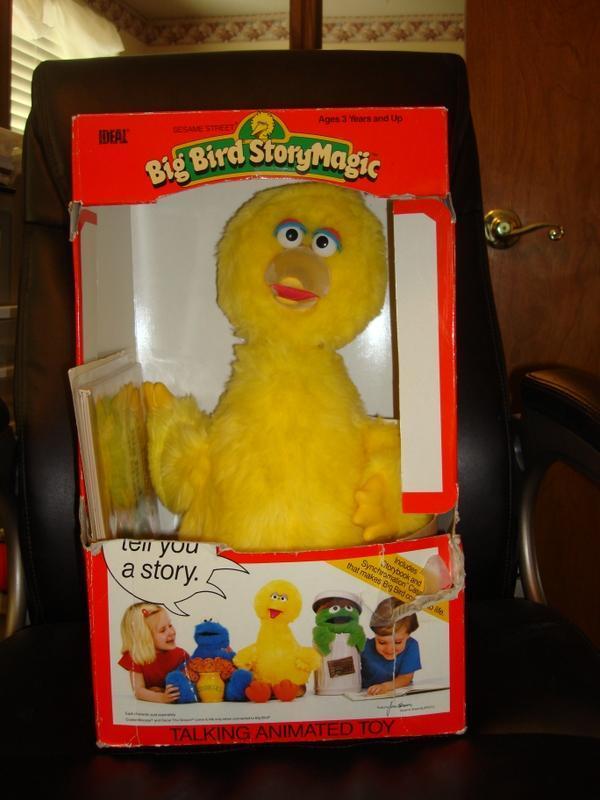 NRFB Talking Big Bird by Ideal