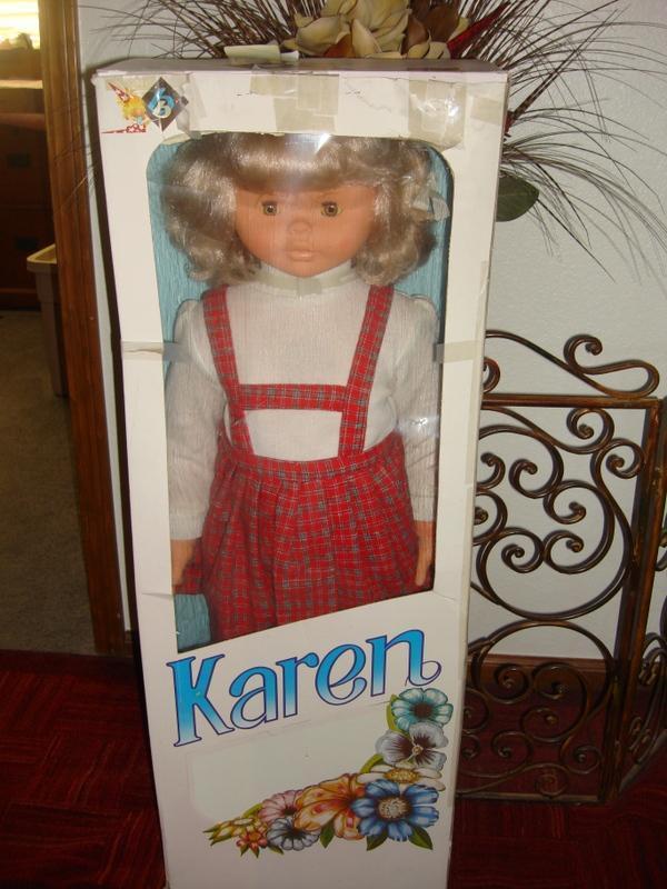 "Rare 38"" Karen by in Spain MIB"
