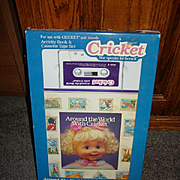 Talking Cricket Activity Book and Cassette Tape Set  MIP