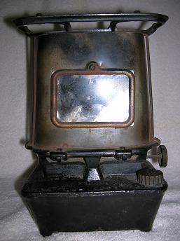 Cast Iron Camping Stove by Taylor & Boggis Foundry  Patented  Dec. 26, 1888