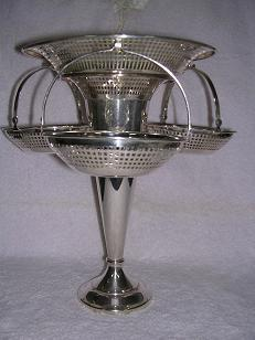 Silver Plated Sweet Meat Dish
