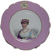 Haviland Handpainted Plate