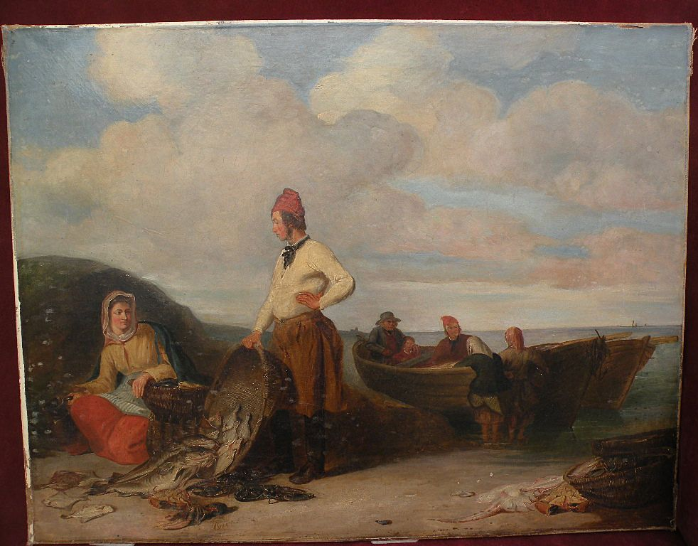 Fine 19th century Scottish or English painting signed WILLIAM SHAYER SR. (1788-1879)