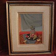 ROGER CHAPELAIN-MIDY (1904-1992) French twentieth century art Ecole de Paris signed limited edition lithograph still life print