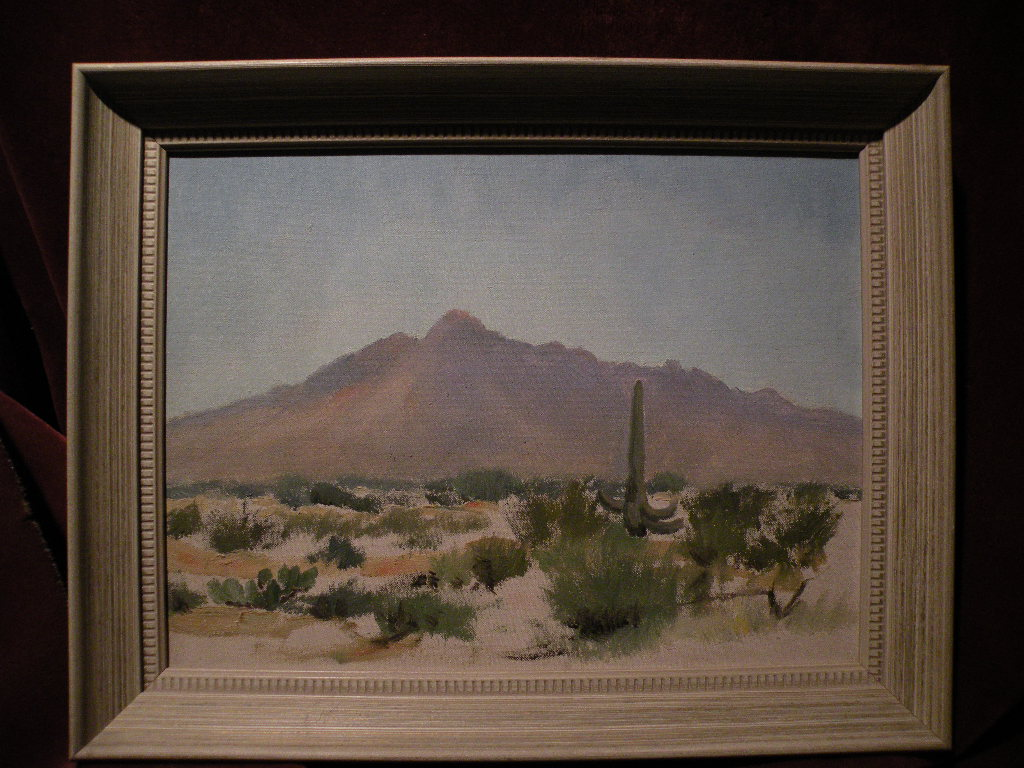 Arizona art decorative desert Southwest landscape painting