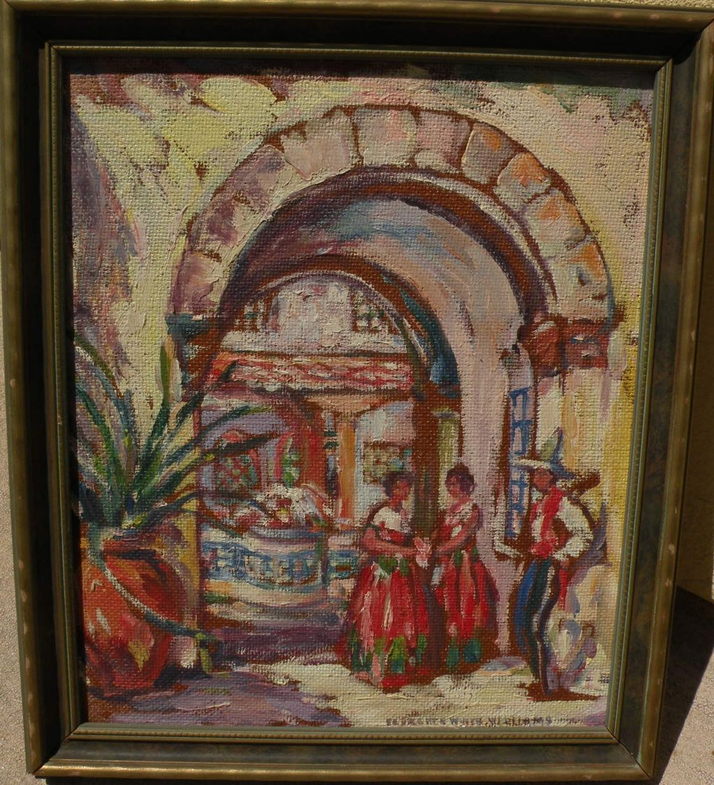 Florence White Williams 1888 1953 Impressionist Mexican