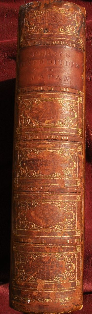 "Scarce 1856 book ""Narrative of the Expedition of an American Squadron to the China Seas and Japan"" by Commodore Matthew Perry"