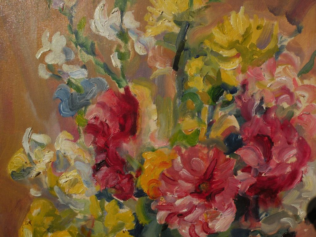 Pauline Bliss Williams 1888 1962 Impressionist Floral