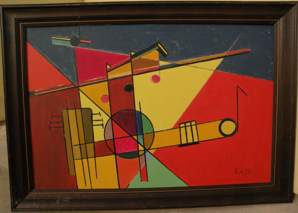 Kandinsky and Russian Avant-Garde inspired modern painting