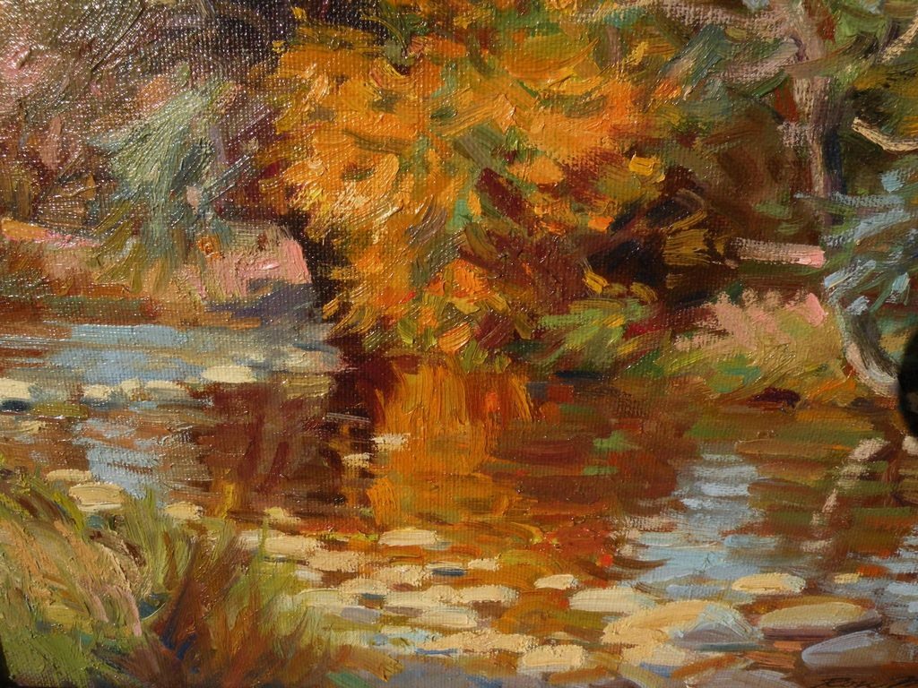 Ron Mckee Contemporary American Impressionist Painting