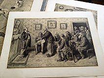 ARTHUR BURDETT FROST (1888-1966) folio of six prints by the important American illustrator artist