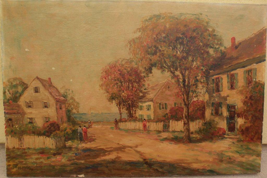 Frances H Mckay C 1880 American Impressionist Art