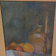 Watercolor and gouache still life drawing by California artist FREDERICK MILLSON