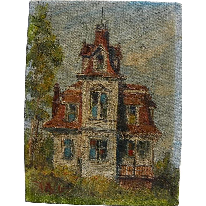 Wilfrid taylor mills 1912 1988 california art small for Classic house 1988