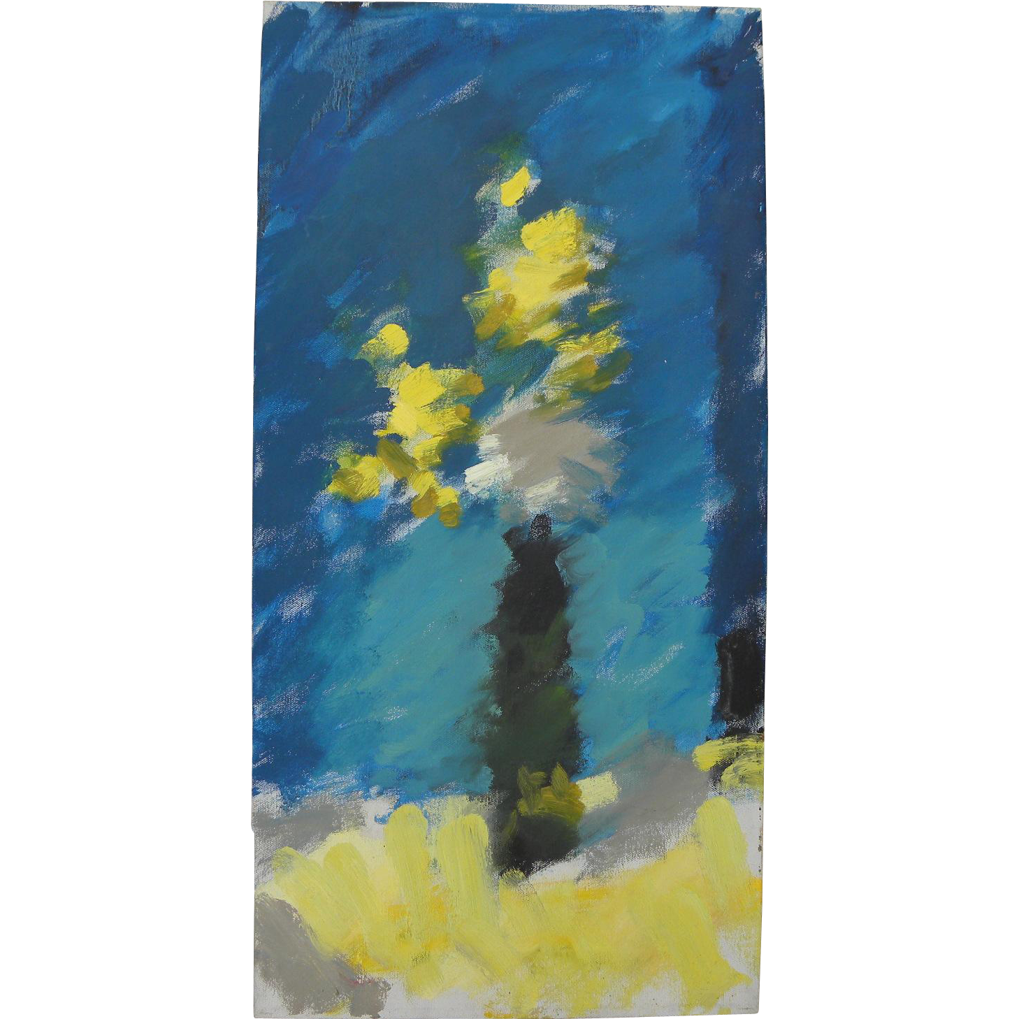 HAYWARD VEAL (1913-1968) Australian impressionist art still life painting