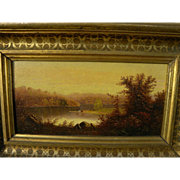 Hudson River School luminism 19th century American landscape painting