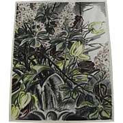 JAMES REYNOLDS (1896-1996) lithograph print dated 1950 by noted American illustrator artist