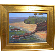 NOEMI SAFAI contemporary impressionist California plein air painting of Laguna Beach