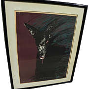 FRITZ SCHOLDER (1937-2005) limited edition pencil signed print by the noted American Indian artist