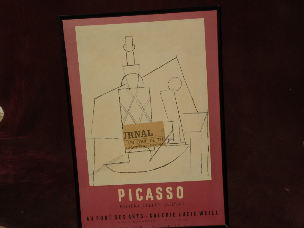 Picasso 1956 original gallery photolithograph limited edition poster