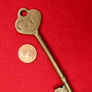 MIRR railroad- brass Caboose KEY