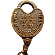UNION PACIFIC Railroad- Roadway & Bridge Department Lock