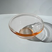 Vintage Hazel Atlas Pink Plainware Mixing Bowl