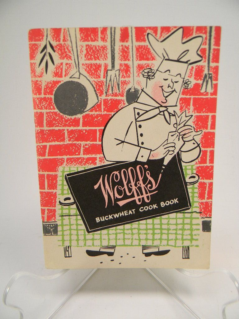 Vintage 1951 Wolff's Buckwheat Cook Book