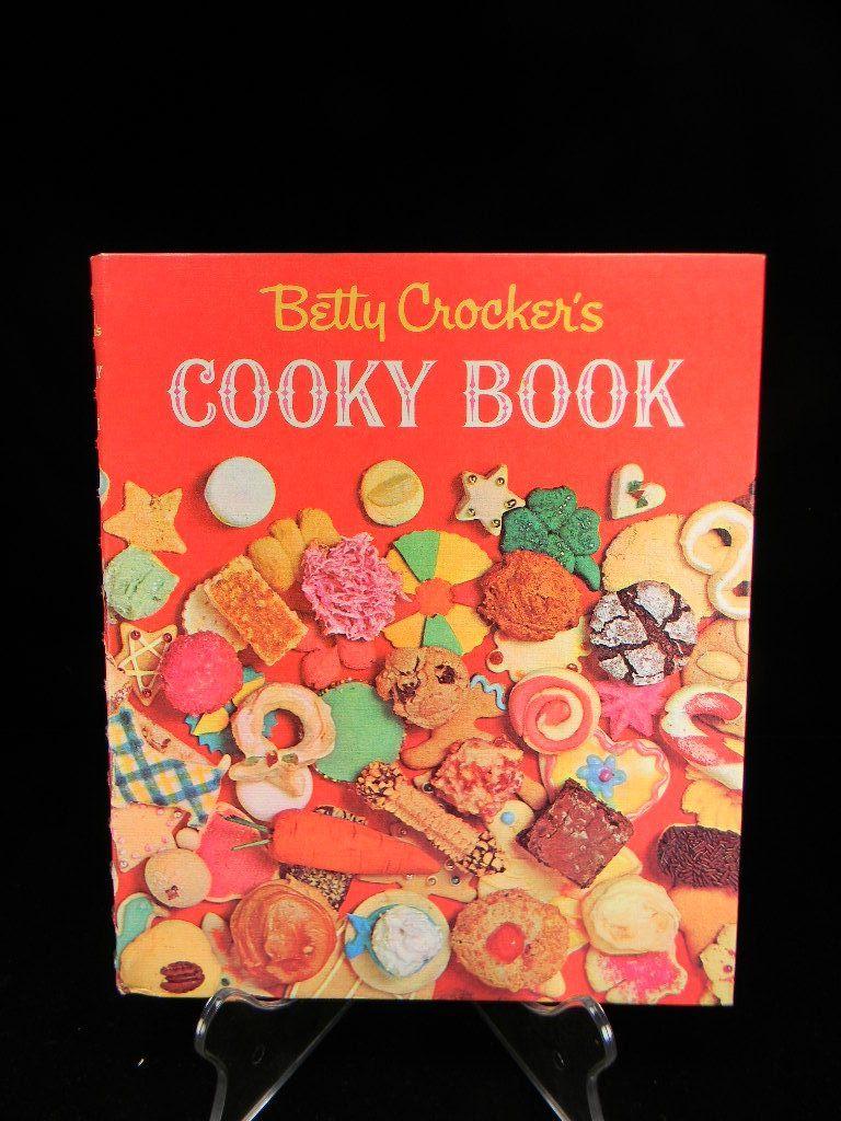 Vintage 1963 Betty Crocker's Cooky Book