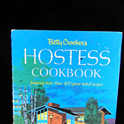 Vintage 1967 Betty Crocker's Hostess Cook Book