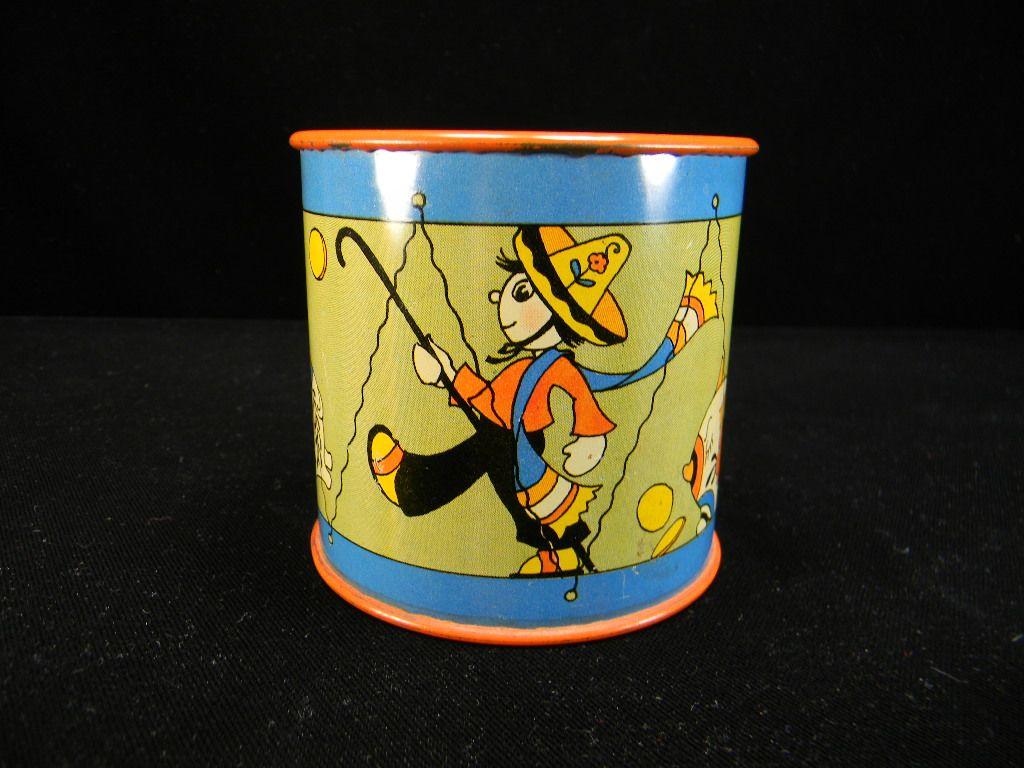 Vintage 1941 Ohio Art Signed Drum Bank