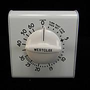 Vintage 1950's Westclox Portable Kitchen Timer