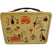 Vintage Junior High School Lunch Box