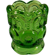 Green Moon & Stars Toothpick Holder