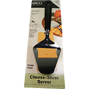 Vintage EKCO Cheese-Slicer Server in Original Packaging