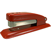 Vintage 1950's Red Swingline Cub Stapler
