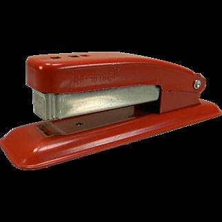 Vintage 1950's Red Swingline Cub Stapler