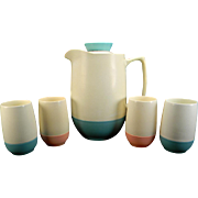 Retro Bopp-Decker Plastic Pitcher & Tumbler Set