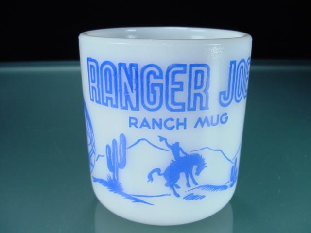 Blue Ranger Joe Kiddie Mug by Hazel Atlas