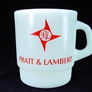 Pratt & Lambert Advertising Mug by Galaxy