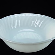 Fire King Ivory Swirl Vegetable Bowl