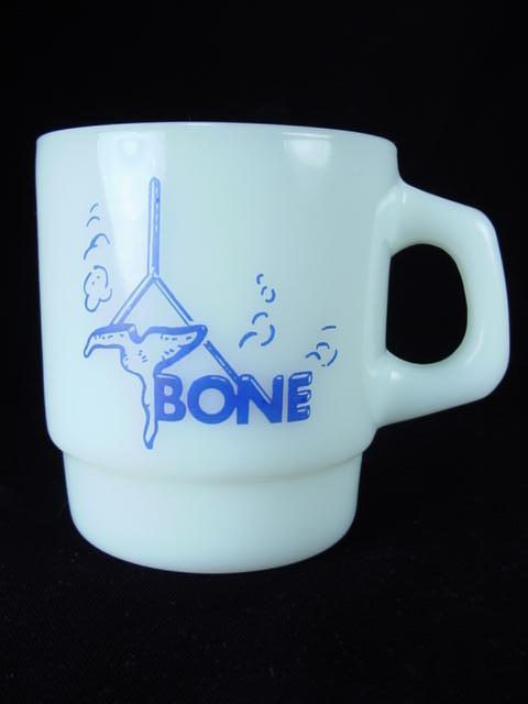 Anchor Hocking T-Bone Feedlots Mug