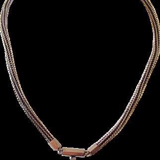 Victorian Snake chain 10k gold 12.5 grams