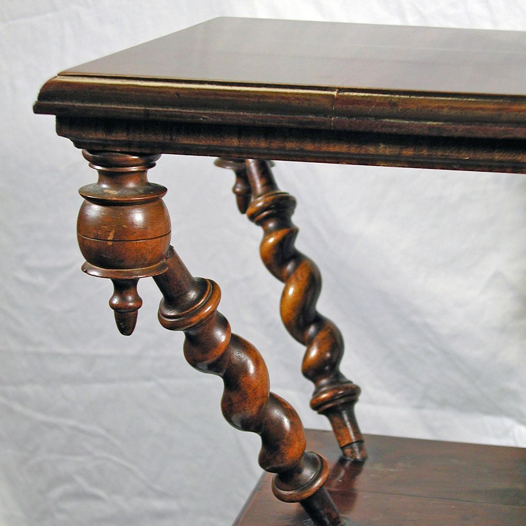 Antique Walnut Parlor Table From Jelitaarts On Ruby Lane